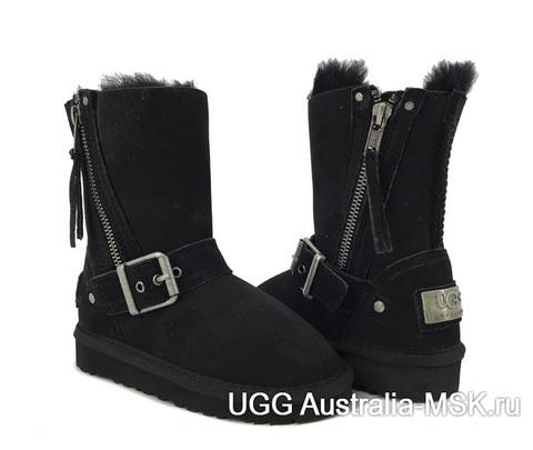 UGG Kids Classic Short Blaise Black