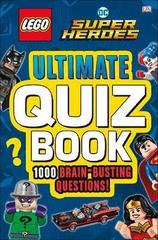 LEGO DC Comics Super Heroes Ultimate Quiz Book : 1000 Brain-Busting Questions