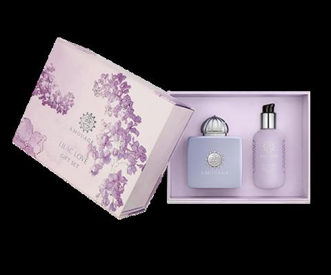 Amouage Lilac Love woman (Парфюмированная вода 100 мл + Лосьон для тела 300мл)
