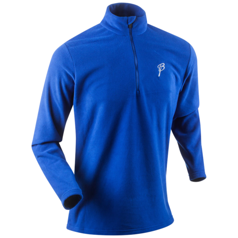 Рубашка беговая Bjorn Daehlie Half Zip Drift  мужская синяя