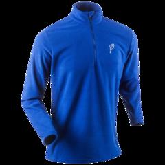 Мужская беговая рубашка Bjorn Daehlie Half Zip Drift (321195 24300) синяя