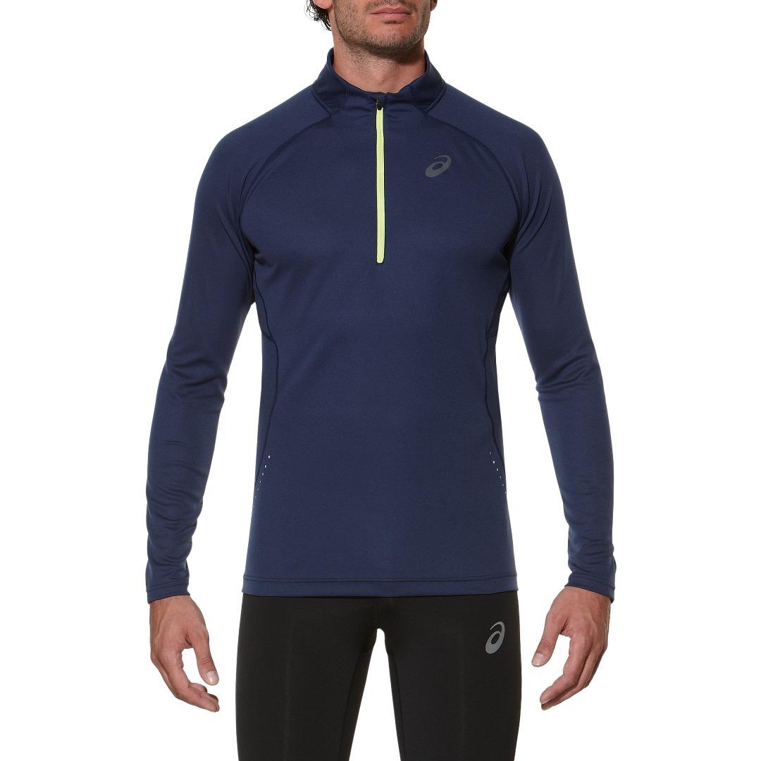 Мужская беговая рубашка Asics LS 1/2 Zip Top (124754 8052) фото