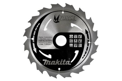 Пильный диск по дереву Makita M-FORCE 165*20*2 мм/16