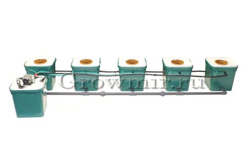 Гидропонная система CubePot Line5+1