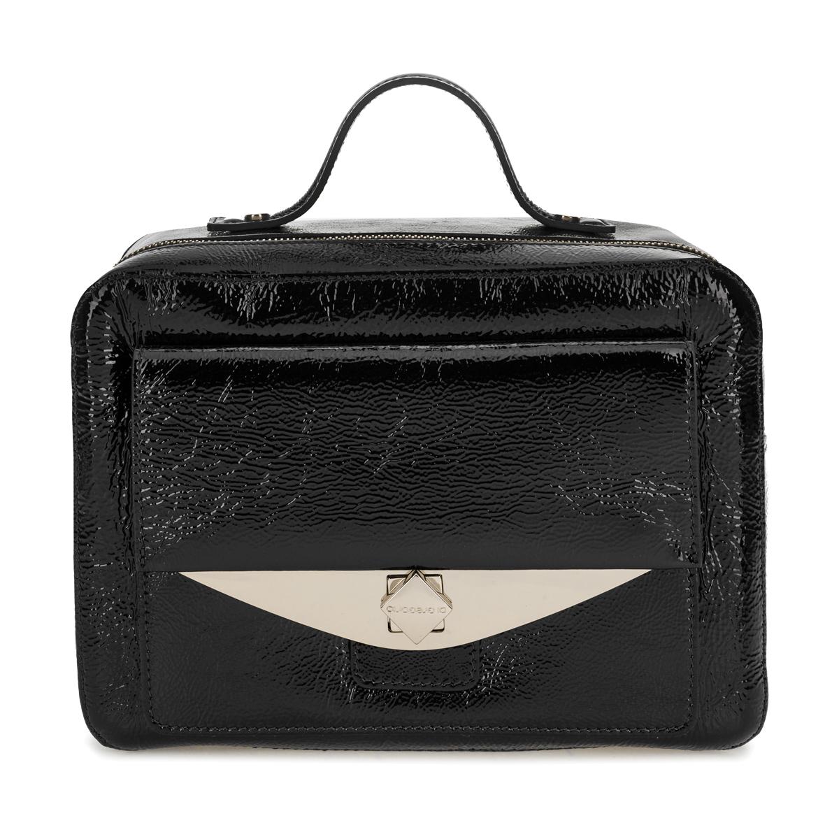 1142 DG наплак черный  (сумка женская)