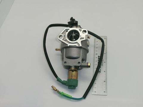 Карбюратор DDE двигателя UP188/190 HOND (DPG5551i/7201i/7551/7553) под ваккумник с эл.маг клапаном