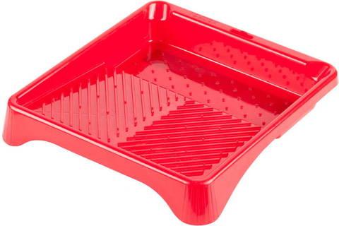 Ванночка ЗУБР малярная пластмассовая, для валиков до 210 мм, 280х300мм, 0,6 л