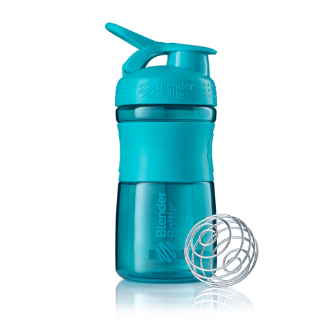 Бутылка-шейкер SportMixer Teal