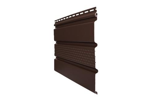 Софит Т4 Гранд Лайн коричневый с частичной перфорацией 3х0,303 м