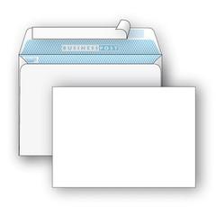 Конверты Белый C5 стрип BusinessPost 162х229 1000шт/уп/2876