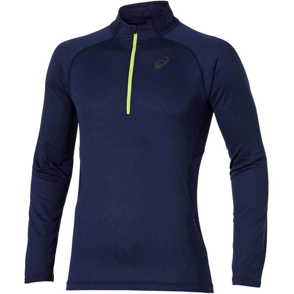 Мужская беговая рубашка Asics LS 1/2 Zip Top (124754 8052)
