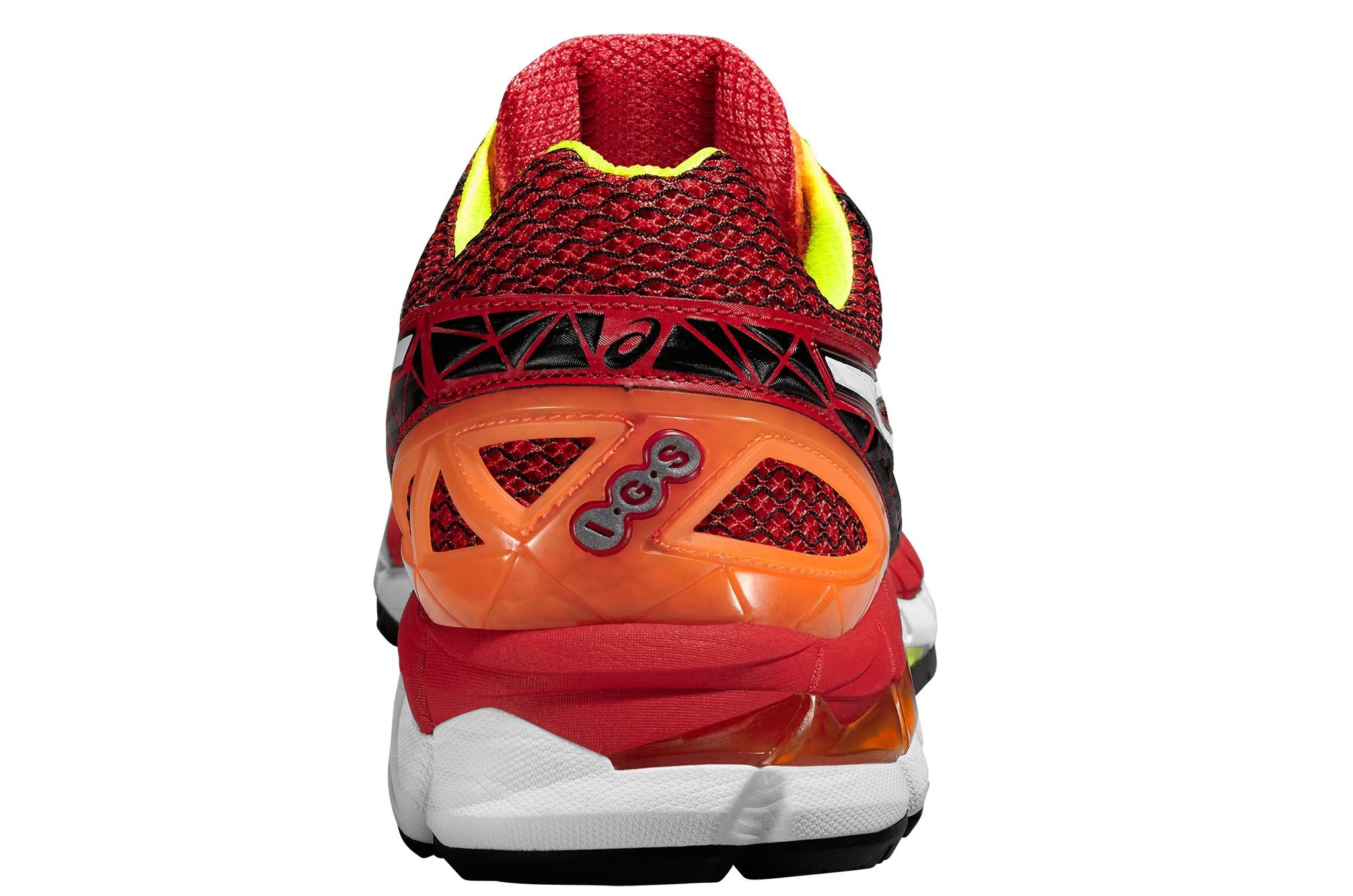 Мужские кроссовки для бега асикс GT-3000 4 (T604N 2301) красные фото