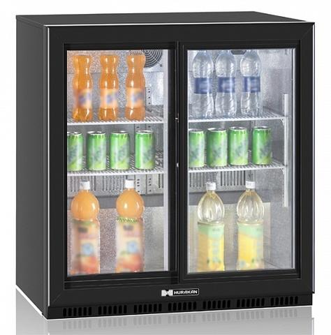фото 1 Холодильный барный шкаф Hurakan HKN-DB205S на profcook.ru