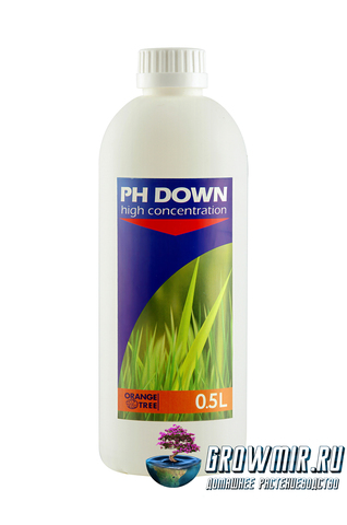 Регулятор кислотности pH Down от Orange tree 0,5л