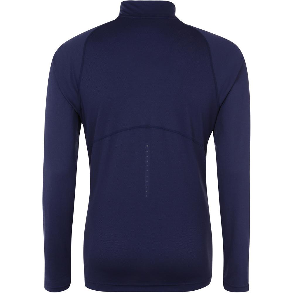 Мужская беговая рубашка асикс  LS 1/2 Zip Top (124754 8052)