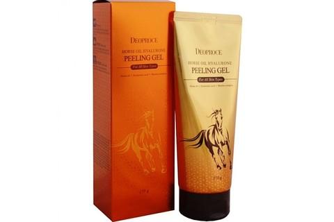 DEOPROCE Horse Гель-скатка с гиалуроновой кислотой и лошадиным жиром Deoproce Horse Oil Hyalurone Peeling Gel 170гр