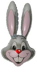 F Мини фигура Заяц (серебро) / Rabbit (14