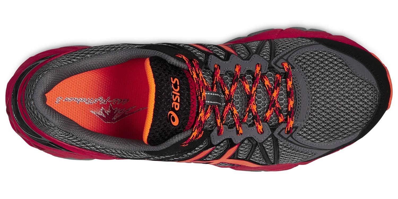Мужские кроссовки внедорожники Asics Fujitrabuco 3 (T4E2N 9730) серые фото
