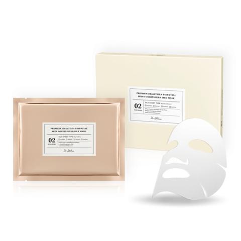 Премиальная успокаивающая тканевая шёлковая маска, 30 г / Dr. Althea Premium Essential Skin Conditioner Silk Mask