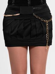 A2075-6 юбка черная