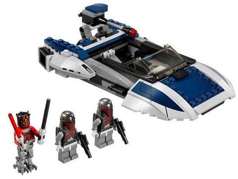 LEGO Star Wars: Мандалорианский спидер 75022