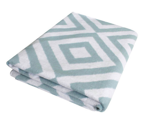 Одеяло байковое Премиум Ромбы