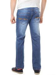 2066 джинсы мужские, синие