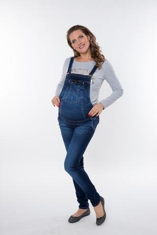 Комбинезон для беременных 08904 синий