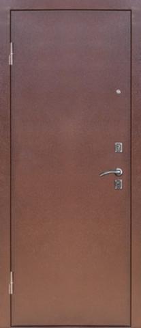 Дверь входная S-4 стальная, итальянский орех, 1 замок, фабрика Арсенал