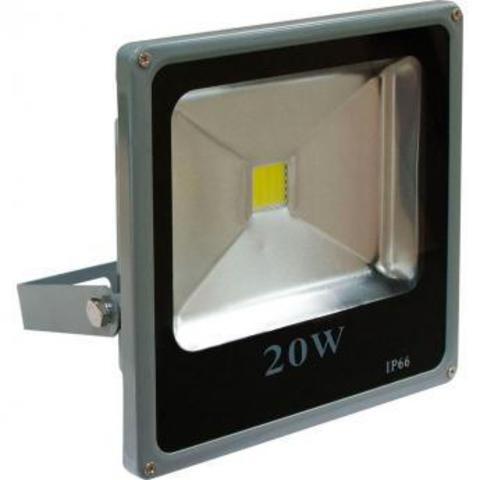 Светодиодный прожектор Feron  LL-272 1LED*20W - белый холодный 230V 6400K
