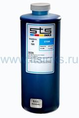 Латексные чернила STS для HP L26500\L28500 Cyan 1000 мл