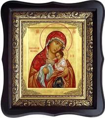 Чаша терпения. Икона Божьей Матери на холсте.