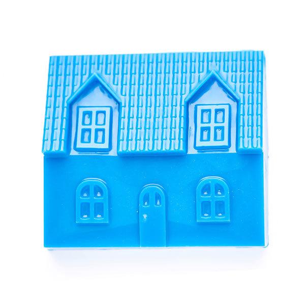 Форма пластиковая для мыловарения Домик