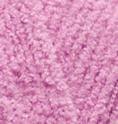 Пряжа Alize Softy нежно-розовый 672
