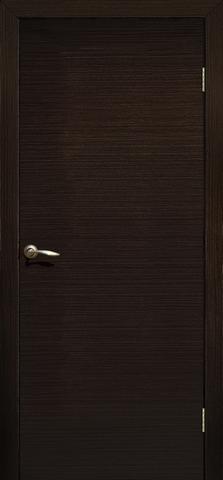 Дверь Сибирь Профиль ДПГ, цвет венге 3D, глухая