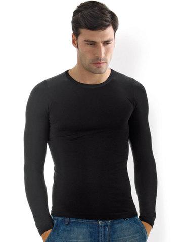 Мужская футболка T-Shirt Giroсollo Manica Lunga Intimidea