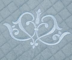 Элитный коврик для ванной Ванити голубой от Old Florence