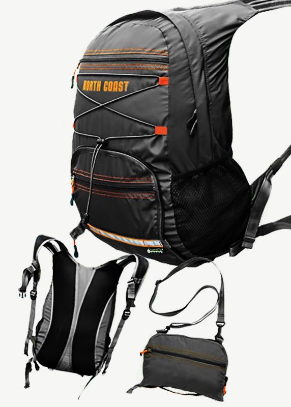 Рюкзак складной North Coast, черный