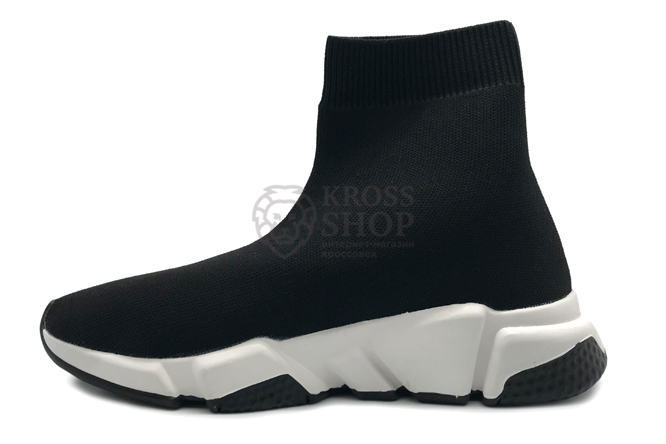Balenciaga Women's Speed Trainer Supreme Black/White