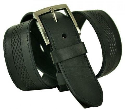 Ремень мужской кожаный джинсовый 40SVAR-024