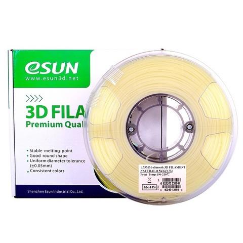 Пластик Esun eSmooth. 1.75 мм - 0.5 кг. Натуральный