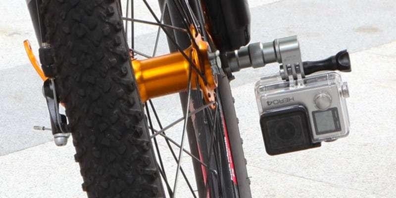 Крепление на колесо велосипеда Selans пример использования