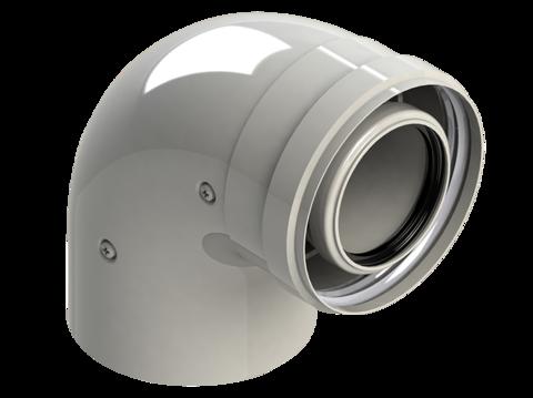 Колено для конденсационных котлов диам. 60/100 MF 90