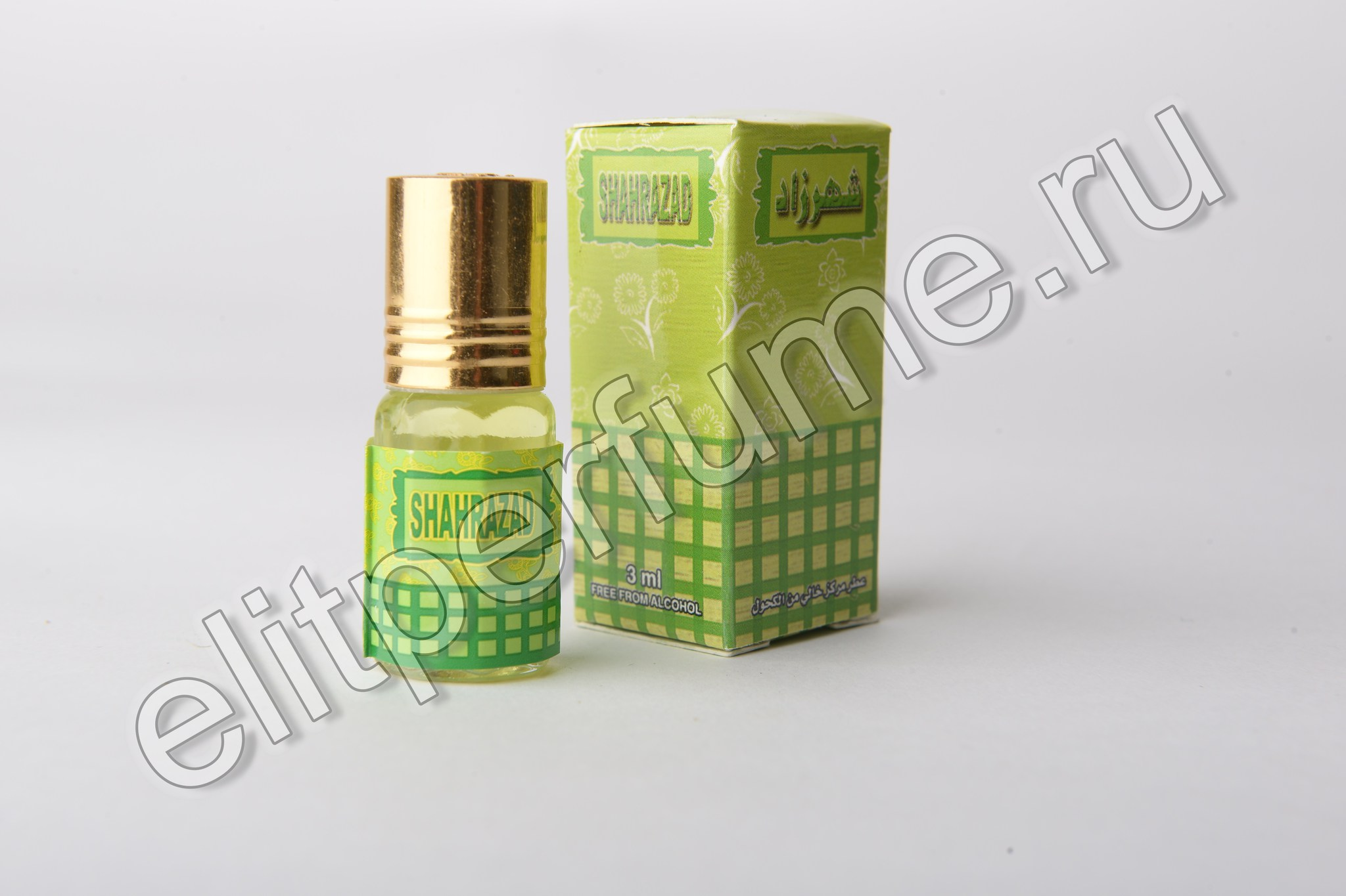 Shahrazad  Шахразад 3 мл арабские масляные духи от Захра Zahra Perfumes