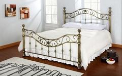 Кровать Шарлотта 200x160 (Charlotte) Античная медь