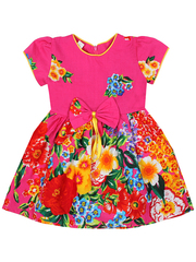 16225-2 платье детское, розовое