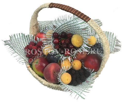 Корзина с фруктами - Волшебное ассорти из фруктов и ягод