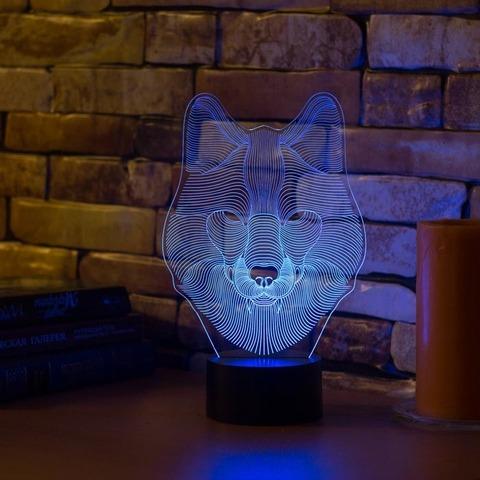 Лампа Волк