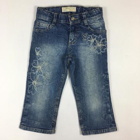 Джинсы/капри Gloria Jeans для стильной девочки на 8 лет