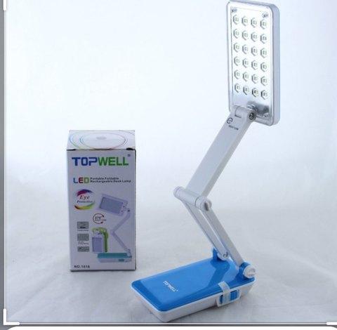Настольная аккумуляторная лампа-трансформер TopWell 1018